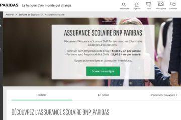 Assurance Scolaire BNP Avis 2021