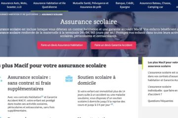 Assurance Scolaire MACIF Avis 2021