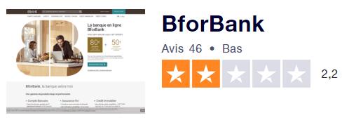 BforBank Avis Clients Trustpilot